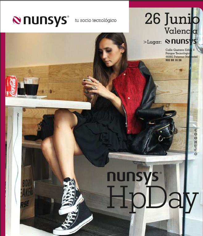 programa hp day1 #NunsysHpDay, buscando el máximo rendimiento de la tecnología