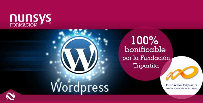 Curso wordpress basico Curso de introducción a Wordpress (autónomos y particulares)