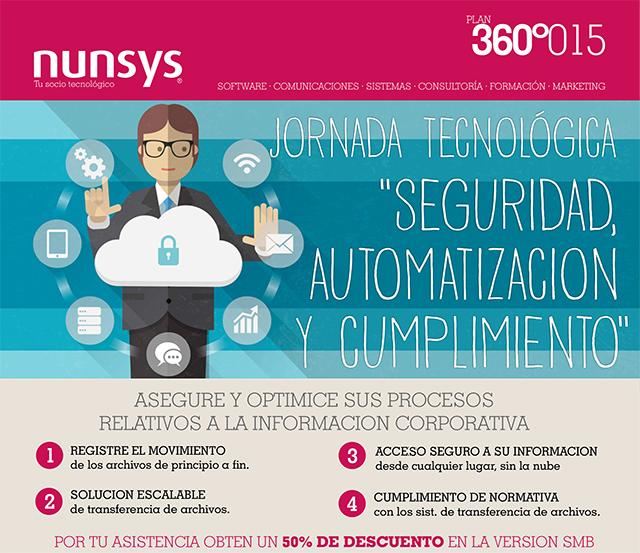 seguridad automatizacion cumplimiento Jornada Tecnológica Seguridad, Automatización y Cumplimiento en Valencia