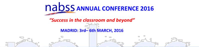 nabss annual conference 2016 NUNSYS estará presente en la Conferencia Anual de Colegios Británicos de España