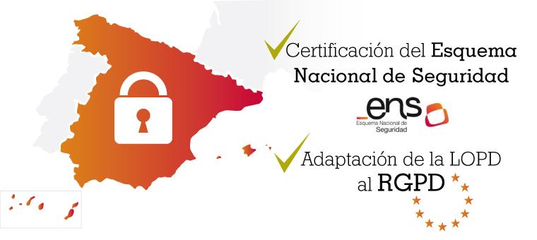 mailing ENS RGPD ¿Estás preparado para certificarte del Esquema Nacional de Seguridad?