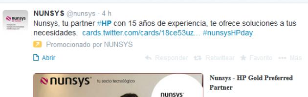 ejemplo twitter ads caso de éxito