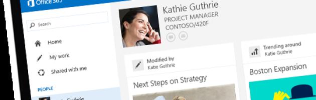 el buscador de Office 365 delve