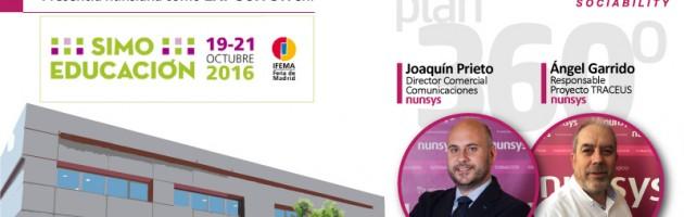 Nunsys estará presente en SIMO EDUCACIÓN 2016. Tecnología para el Sector Educativo